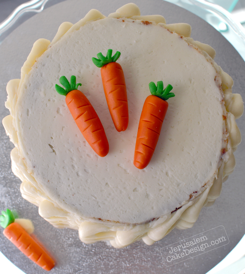 Easy Carrot Cake Jerusalem Cake Design